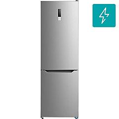 Refrigerador no frost bottom freezer 290 litros inox