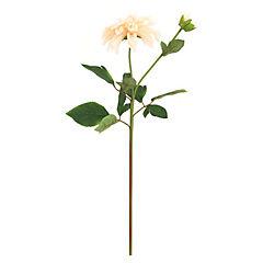 Flor dalia 59 cm color durazno