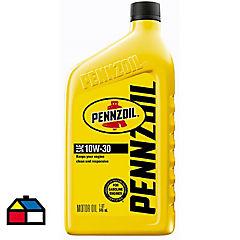 Aceite para motor pennzoil 10w30 mo gf5 1 litro