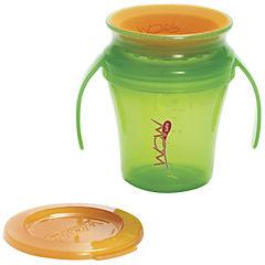 Pack de 2 vasos antiderrame bebéverde/morado