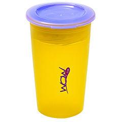 Pack de 2 vasos antiderrame juicy azul/amarillo