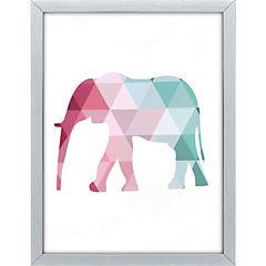 Cuadro tela canvas Elefante 60x80 cm
