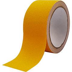 Cinta adhesiva PET Anti-deslizante de seguridad vial amarillo 50mmx3m