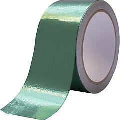 Cinta tarpaulin verde para reparacion de lonas 50mmx8m