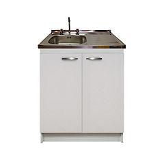 kit mueble cocina derecho 2 puerta 80x50 cm