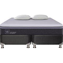 Box Spring Ortopedic Advance King  + 2 almohadas