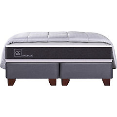 Box Spring King Firme + Plumon