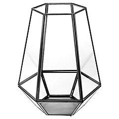 Huracan Vidrio Hexa 25Cm Negra