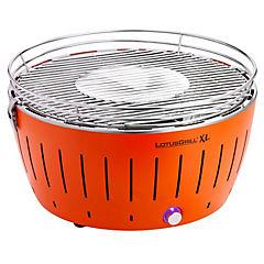 Parrilla a carbón portátil XL naranja