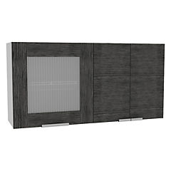 Mueble de cocina 120x33,5x60 cm Gris/blanco