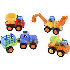 Set 4 juguetes Vehículos de construcción