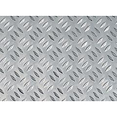 Lamina aluminio grano riso mm.1000x500