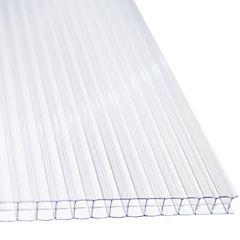 Policarbonato alveolar 2100x4500x6 mm transparente