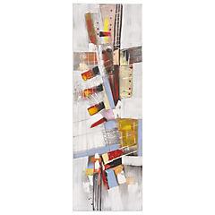 Oleo Abstracto Pinturas 40x120 cm