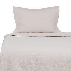 Quilt algodón 1,5 plazas crudo