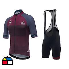 Conjunto ciclismo Giro d' Italia púrpura talla XL