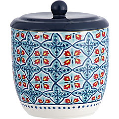 Canister M gres 17x14 cm