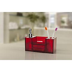 Organizador lavamanos 12x11x22,5 cm Rojo