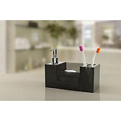 Organizador lavamanos 12x11x22,5 cm Negro