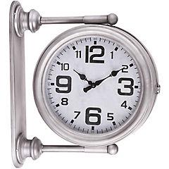 Reloj muro metalico Estacion 43x37 cm