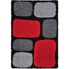 Alfombra Shaggy 150x200 cm multicolor