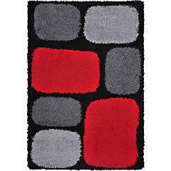Alfombra Shaggy 133x180 multicolor