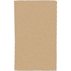 Alfombra poliéster Yagan 133x180 beige