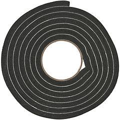 Burlete espuma goma negro 19,05 x 11,1 mm
