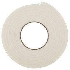 Burlete espuma goma blanco 19,05 x 7,9 mm