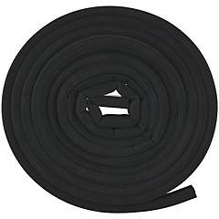 Caucho sintético estriado 14,3 mm x 7,9 mm negro
