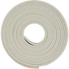 Caucho sintético estriado 9,5 mm x 3,2 mm blanco