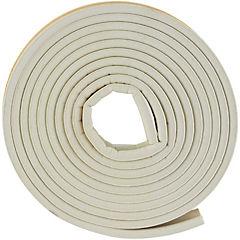 Caucho sintético perfil D 7,9 mm x 6,35 mm blanco