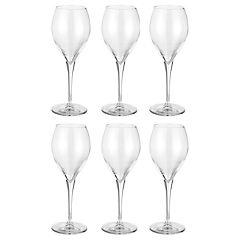 Set 6 copas de vidrio 445 cc