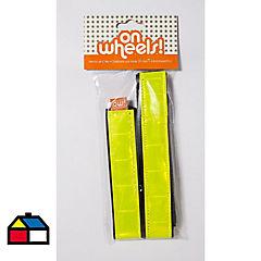 Afirma pantalón doble amarillo