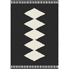 Alfombra Alaska 120x170 cm negro