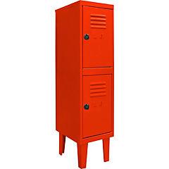 Locker kids 2 puertas 31x40x120 cm