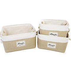 Set 3 cajas Beige