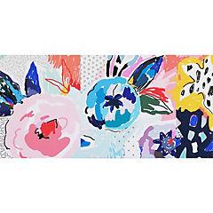 Canvas Flowers I 90x45 cm