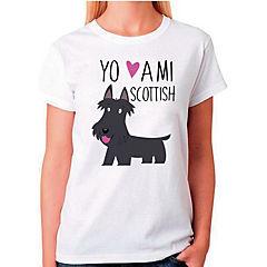 Polera sport mujer talla S scotish terrier
