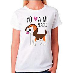 Polera sport mujer talla M beagle