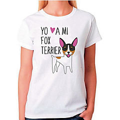 Polera sport mujer talla S fox terrier