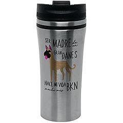 Mug silver gran danés café