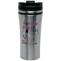 Mug silver bull terrier