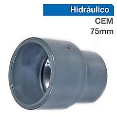 Buje reducción largo PVC para cementar 75x50 mm