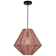 Lámpara de techo colgante aluminio E27