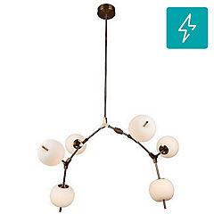 Lámpara de techo LED de vidrio 36 W
