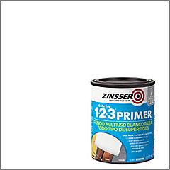 Pintura multi superficie 1-2-3 1/4 galón