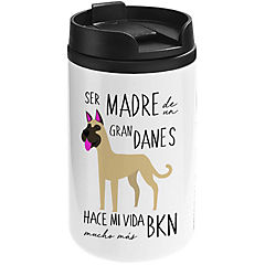 Mug mini blanco gran danés café