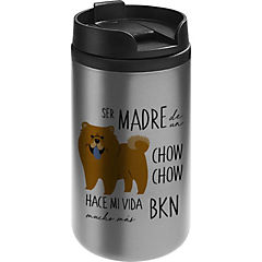 Mug mini acero chow chow
