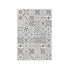 Alfombra vinílica Ecléctic Grey 120 x 180 cm